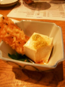 Sesame Tofu at Jo Sho