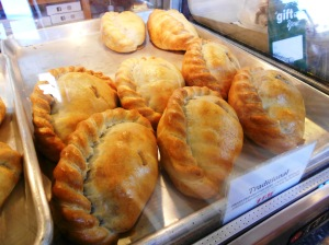 Traditional Pasties at Pure Pasty, Vienna VA