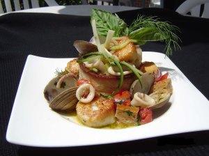 Garden State Seafood Panzanella