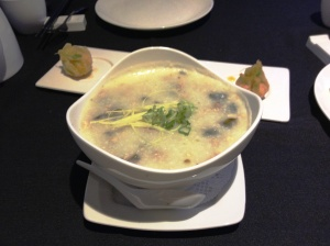Pork & preserved egg congee, Peony Pavilion. I could eat this every day.