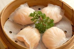 Shrimp Dumplings, Peony Pavilion