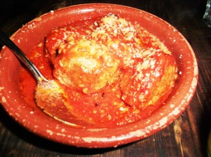 Razza meatballs