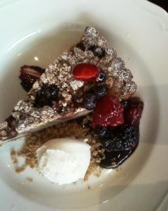 Summer Berry Crostata, Lincoln Ristorante
