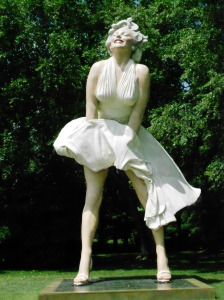 Seward Johnson's Marilyn, Grounds for Sculpture
