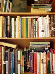 A few cookbooks from my shelves