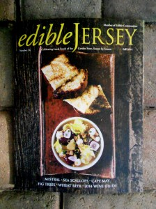 Edible Jersey Fall 2014