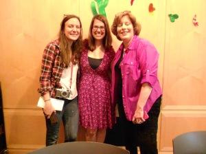 My fellow judges: Gab Carbone of the bent spoon, Princeton Mayor Liz Lempert, & food blogger Sue Gordon