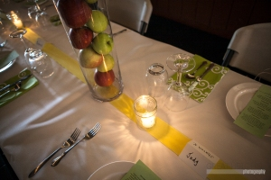 Button's Creperie Tablescape