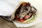 Mamoun's Falafel Lamb Sandwich