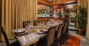 1 of 2 private dining rooms, Seasons 52 Princeton
