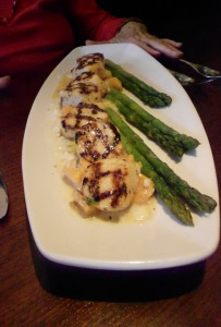Sea scallops, Seasons 52 Princeton