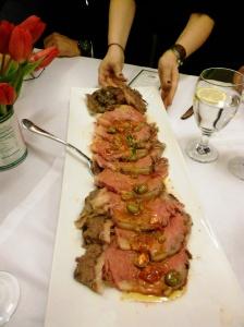 Ribeye with Catanese Olivd Relish, Frankies 457 @ Whole Foods Princeton