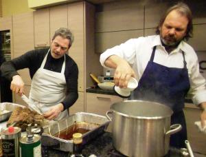 Frank Falcinelli & Frank Castronovo @ Whole Foods Princeton