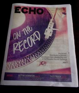 Princeton Echo April 2015
