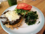 Black Bean Burger, Pulp Vegetarian Cafe, Frenchtown