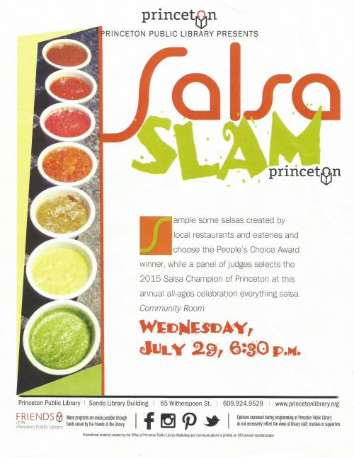 Salsa Slam 2015 Flyer
