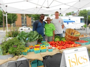 Isles Table at Greenwood Ave. Market