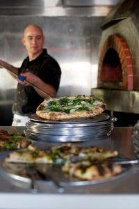 Chris Bryan, Liberty Hall Pizza. Photo by Guy Ambrosino