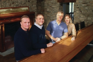 Greg Vassos, Mike Lykens, Jon McConaughy, & Robin McConaughy, Brick Farm Tavern