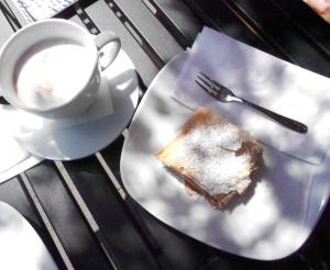 Cafe Vienna strudel