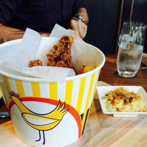 Greene Hook Bucket of Fried Chicken (courtesy Greene Hook FB pag)