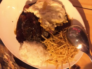 Lomo Saltado with Egg. China Chilcano