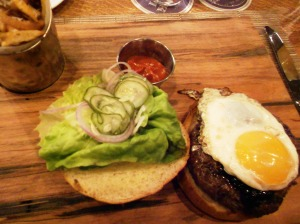 Brick Farm Tavern burger