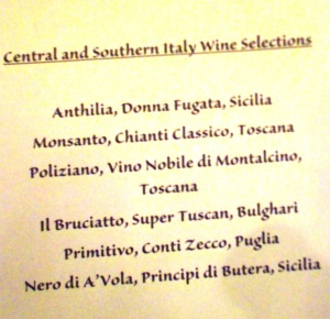 Central & Southern Wines