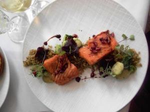 Ryland Inn Grilled Organic Salmon