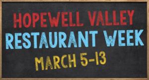 Hopewell Valley Restaurant Week 2016
