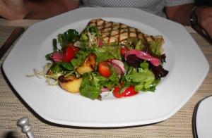 Morgan Chicken Paillard w/Haricots Verts, Fingerlings, Tomato, Frisee, Lemon