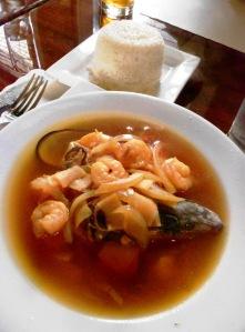Grandma's Seafood Soup, Buen Provecho, Hamilton