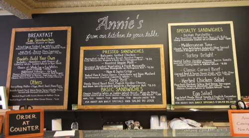 Annies Menu