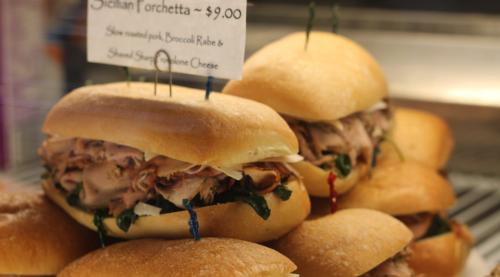Annies porchetta sandwich